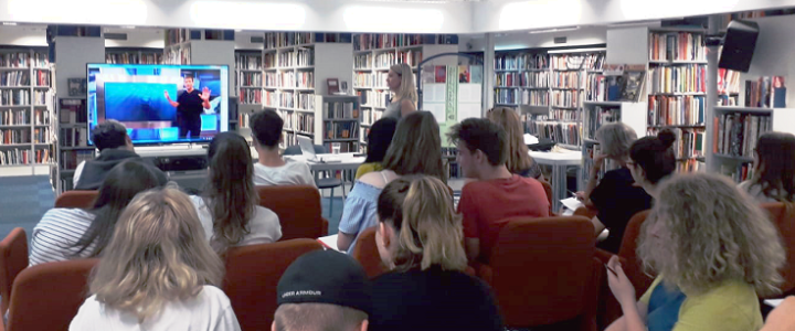 Free Creativity and Writing Workshop Held at Bogdan Ogrizević Library